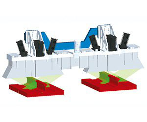 轨腰、轨道板、道心设备图像采集模块