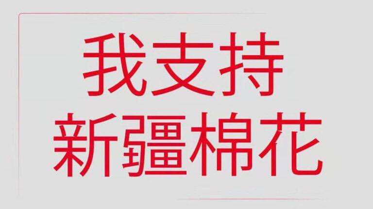 我支持新疆棉花   从中国走向世界